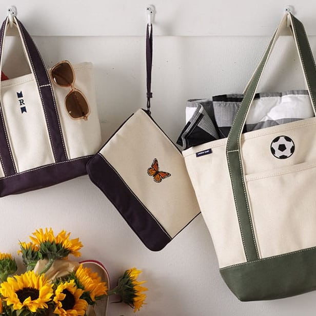 land's end tote bags